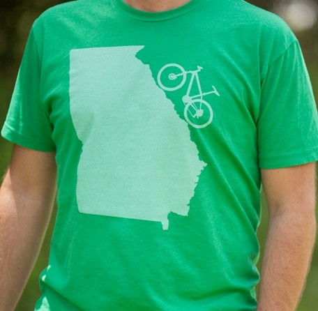 Georgia Mountain Bike T Shirt